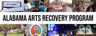Alabama Arts Recovery Program flyer