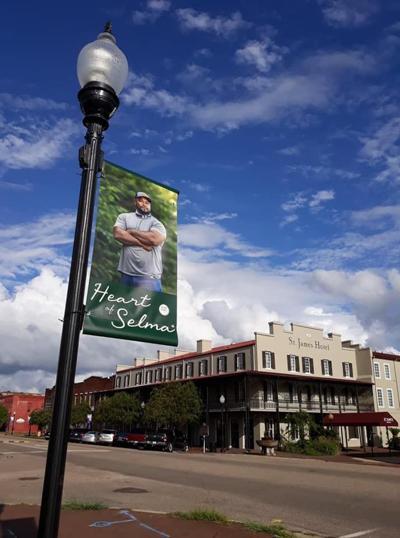 Heart of Selma banner Lemarkus Snow