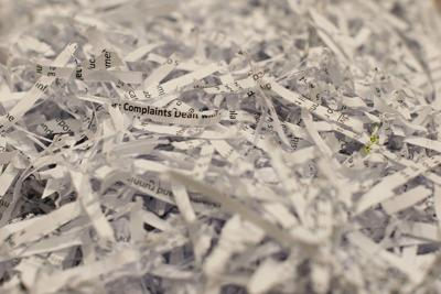 Shredded paper stock