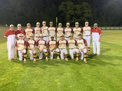 Morgan Academy varsity baseball wins area championship