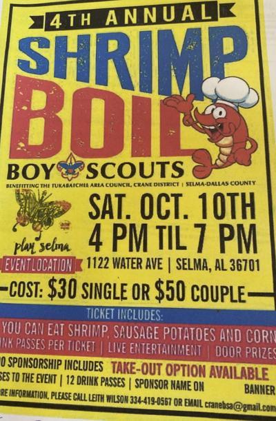 Boy Scouts host Shrimp Boil