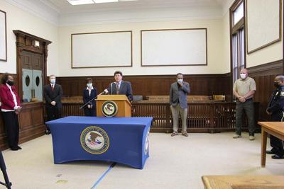 Weed and Seed program; US Attorney Richard Moore to retire