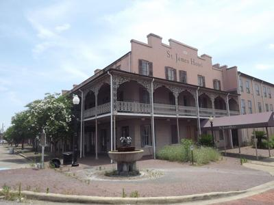 St. James Hotel at ghost hunting event