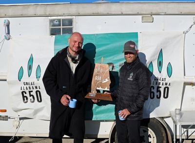 Joe Mann and Paul Cox Alabama Paddle Race