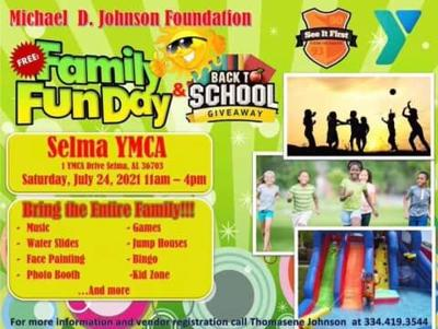 Michael Dr. Johnson Foundation Fun Day and Back to School Giveaway
