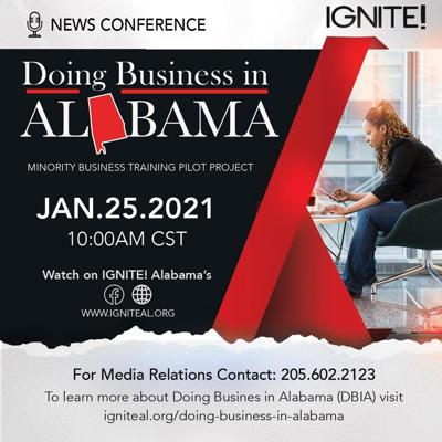 Doing Business in Alabama flyer