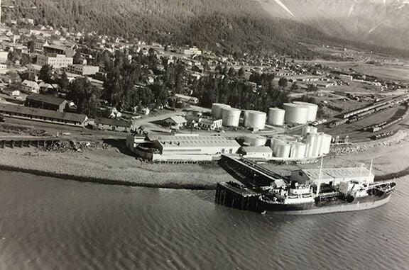 Standard Oil tanks