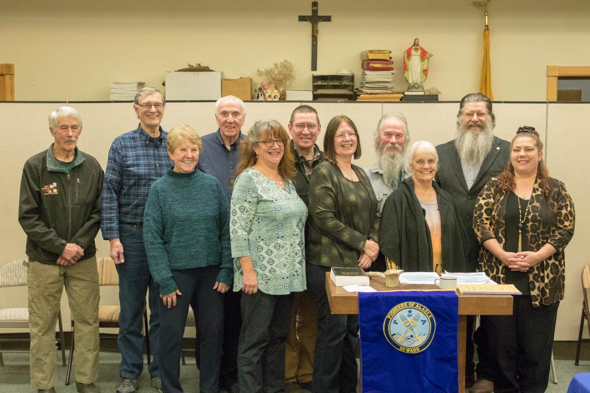 New year, new officers for Seward Pioneers