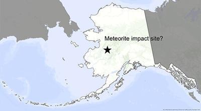 Meteorite in Alaska