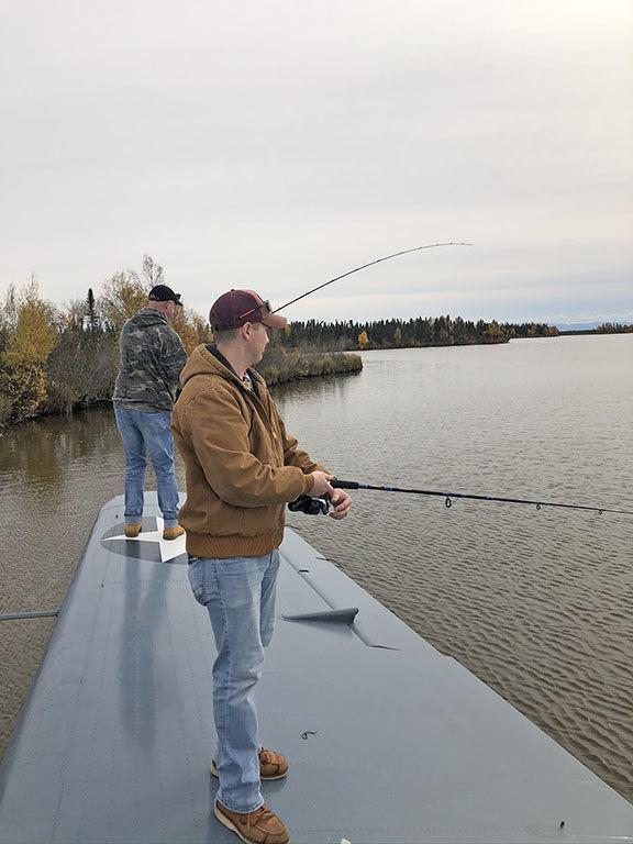 Veterans fishing