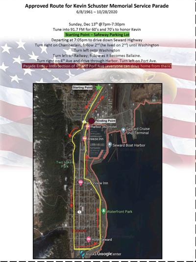 Kevin Schuster Parade Route