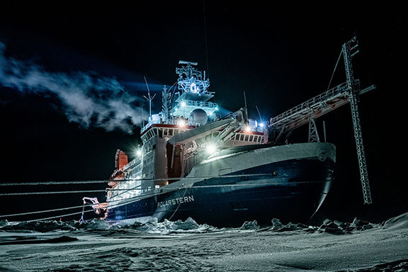 The RV Polarstern