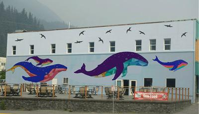 Purposed Whale Mural