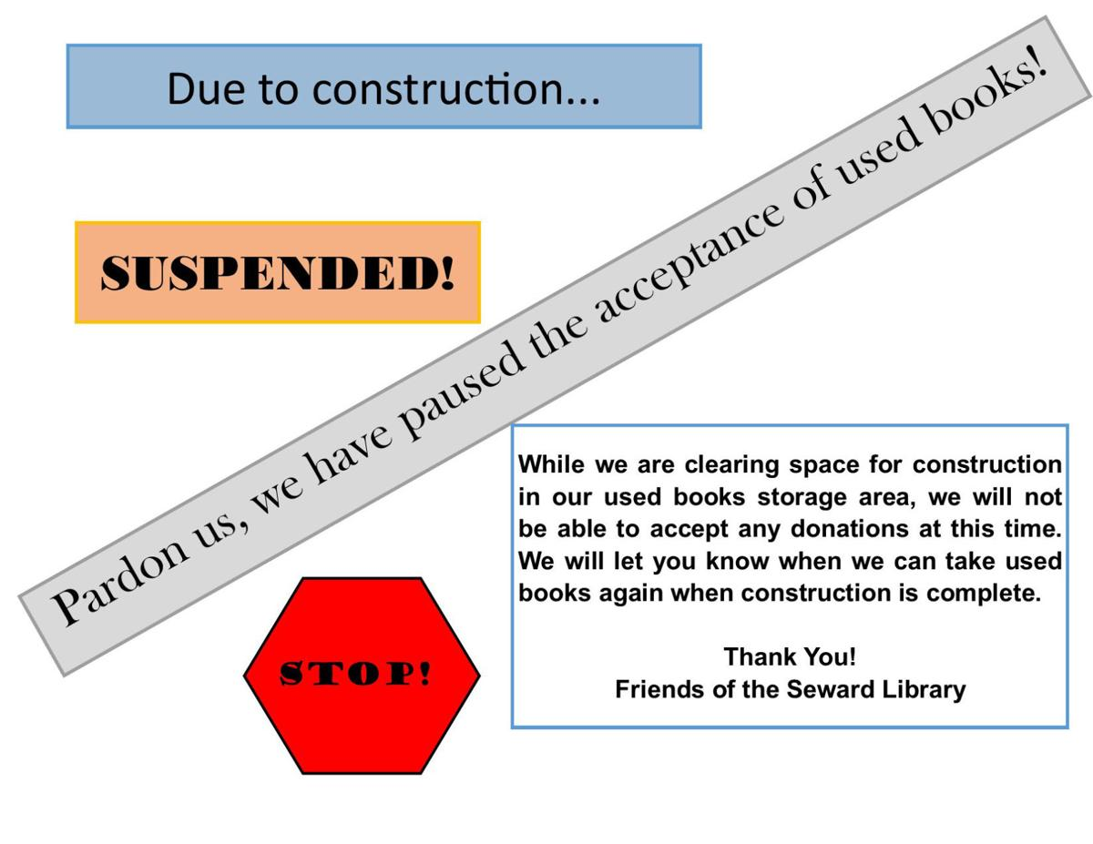 Used Book Collection Suspended