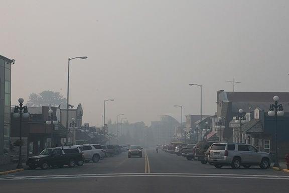 Smoky Downtown