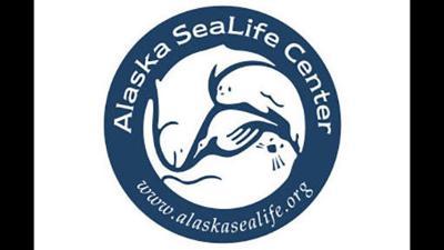 Alaska SeaLIfe Center (ASLC) Button Logo