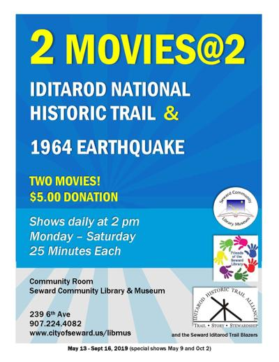 2 Movies @ 2 at the Library & Museum