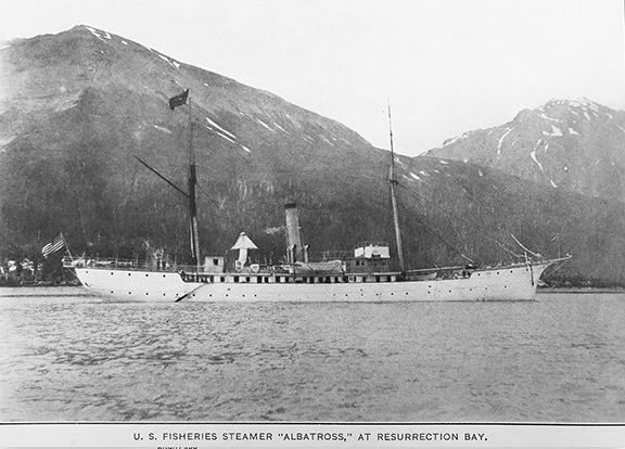 The U.S. Fishery Steamer, Albatross