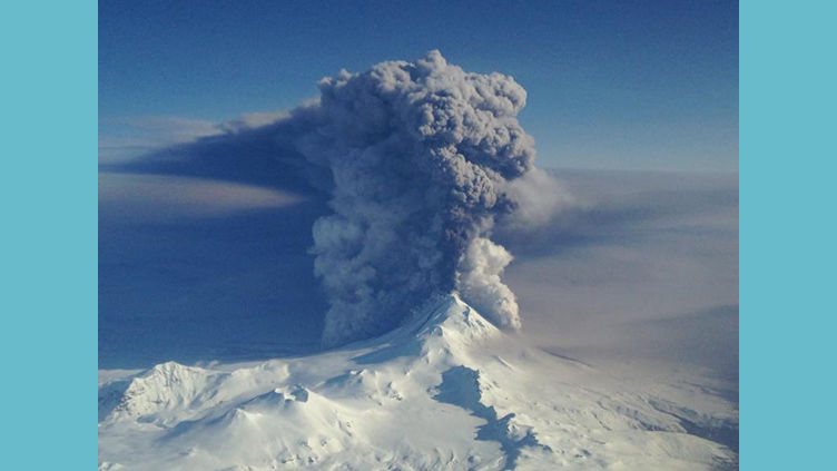 Pavlof eruption