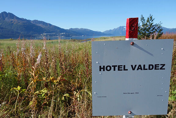 Old Hotel Valdez Site