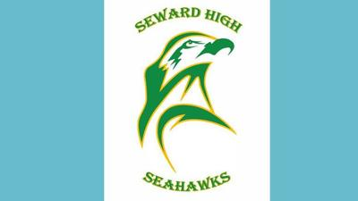 SHS Seward High School Seahawks Logo