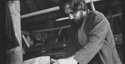 John Davidson working on project