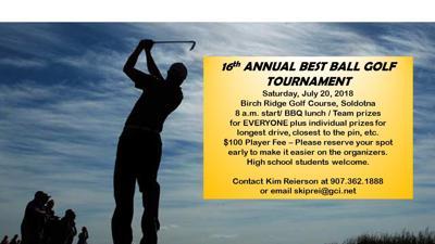 Booster Club Best Ball Golf Tournament