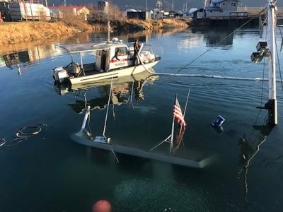 Boat sinks at T-Dock | Local News | sewardjournal com