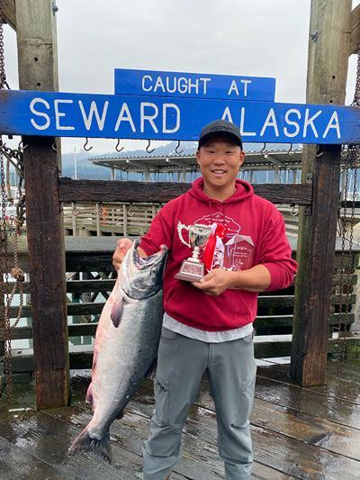 2021 Salmon Derby Winner
