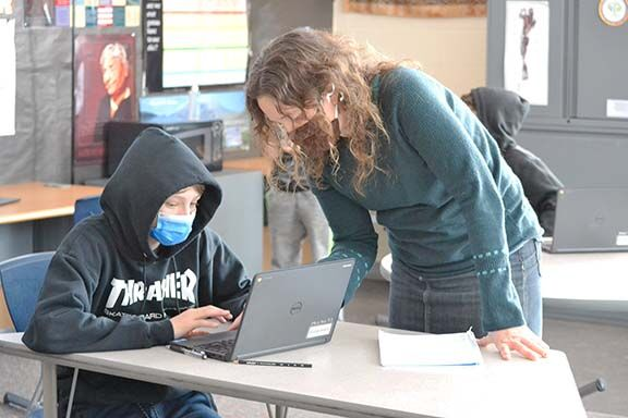 Lilijemark in the classroom
