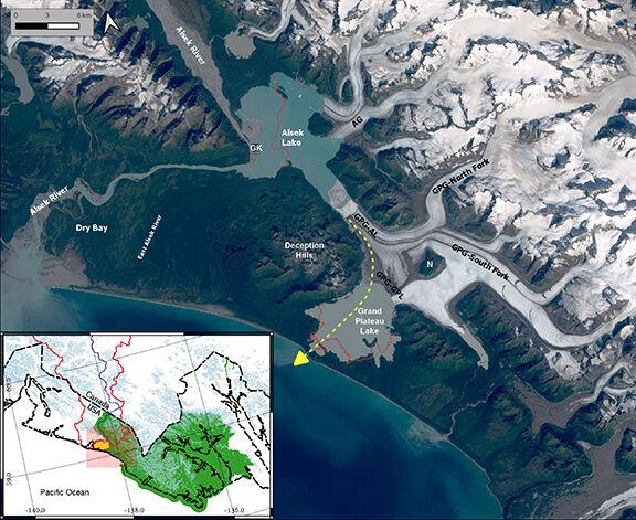 Grand Plateau Glacier