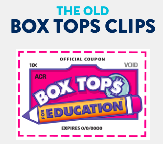Old Box Tops for Education Logo