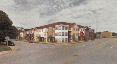 14th/Illinois apartments 1