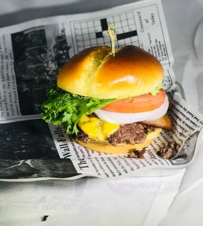Local Press burger