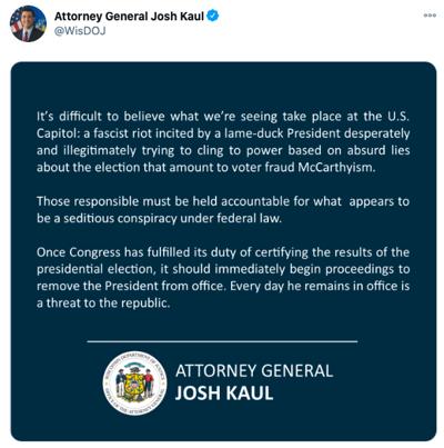 AG tweet