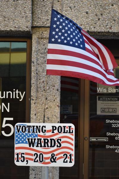 Voter sign