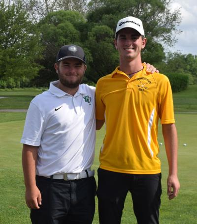 Gearlds and Caldwell advance to Boys Golf Regional
