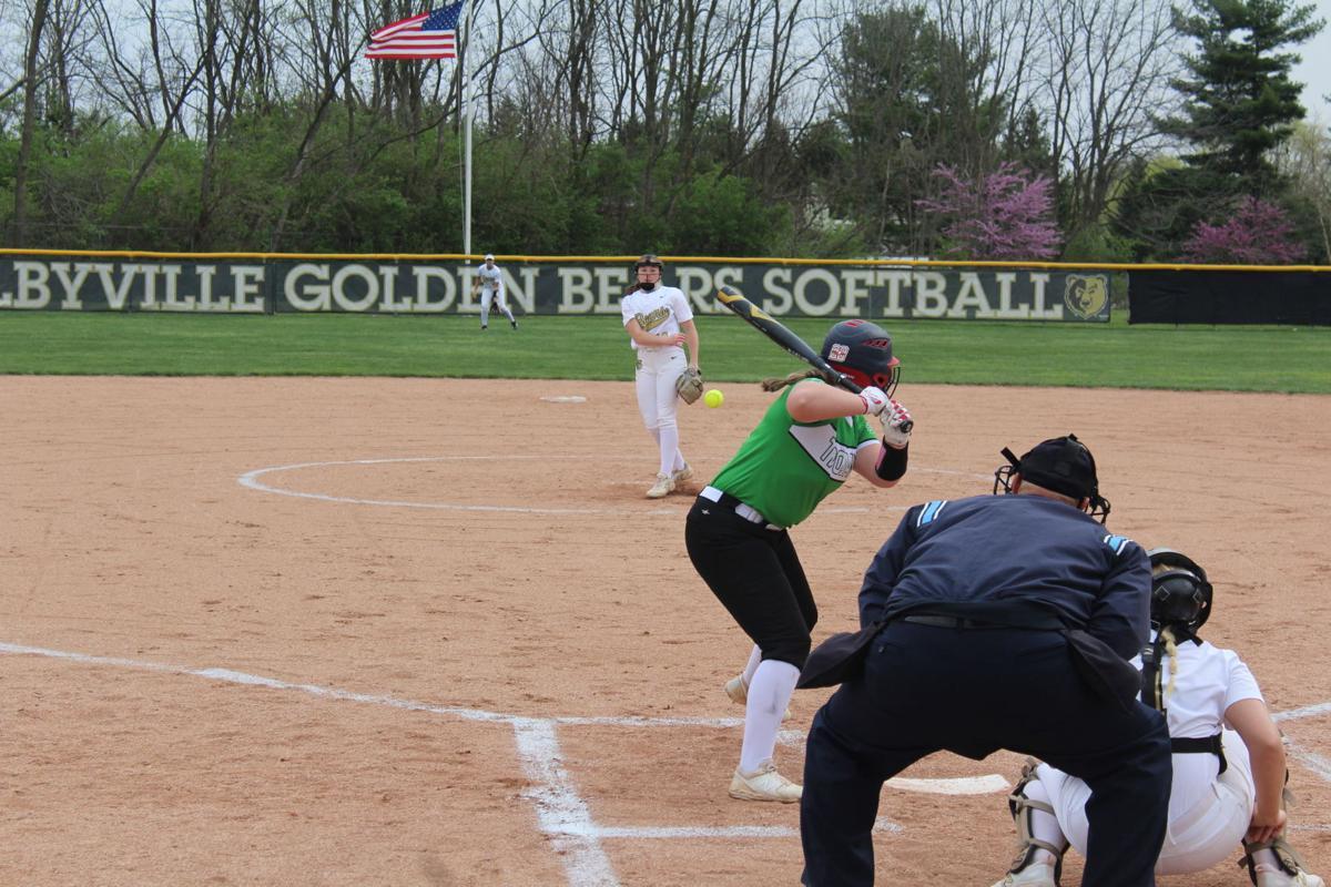 Secondary Shelbyville softball photo