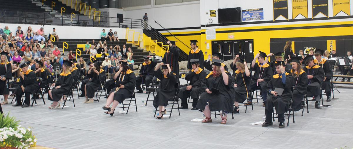 Secondary Morristown commencement photo