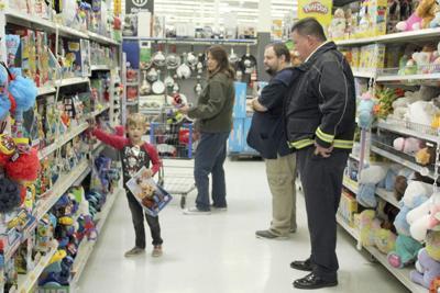 Santa Protectors take area youth on shopping spree