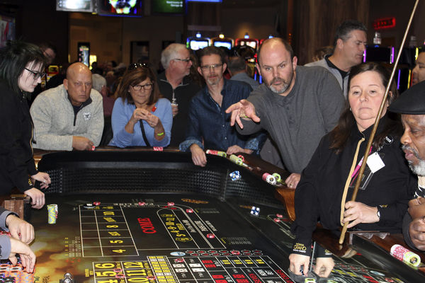 Table games go 'Live' at Indiana Grand