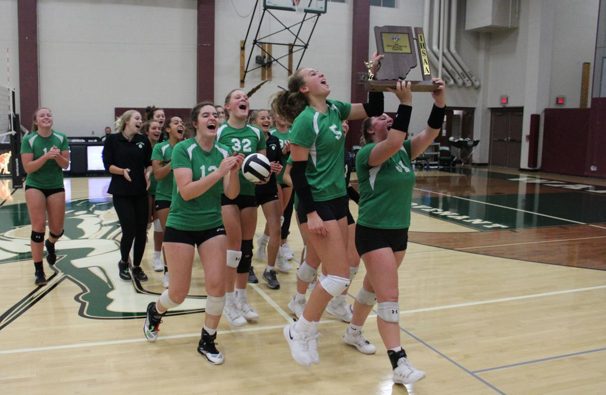 TC volleyball captures program's 4th sectional title