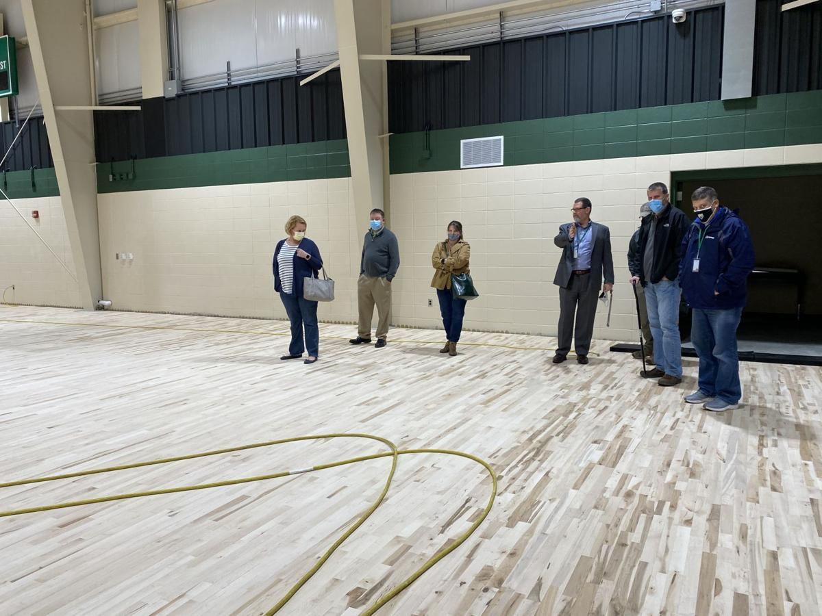 'All but done': TC Field House floor laid