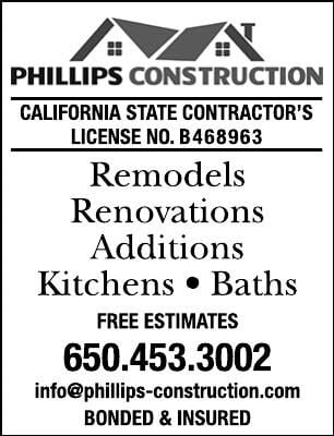 Phillips Construction - Remodels, Renovations, Additions