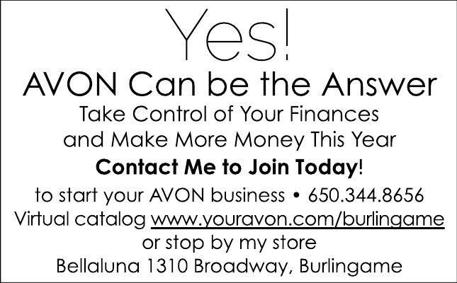 YES! Avon Can be the Answer