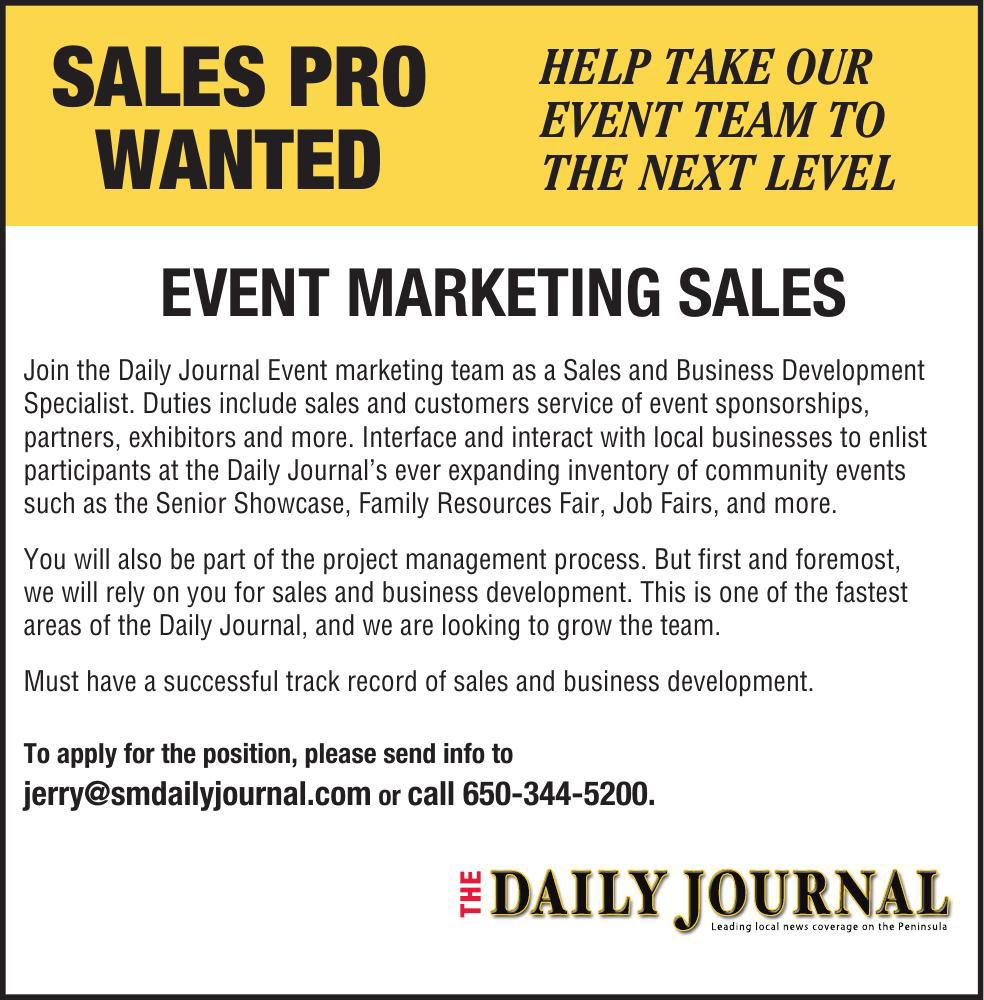 Sales Pro Wanted