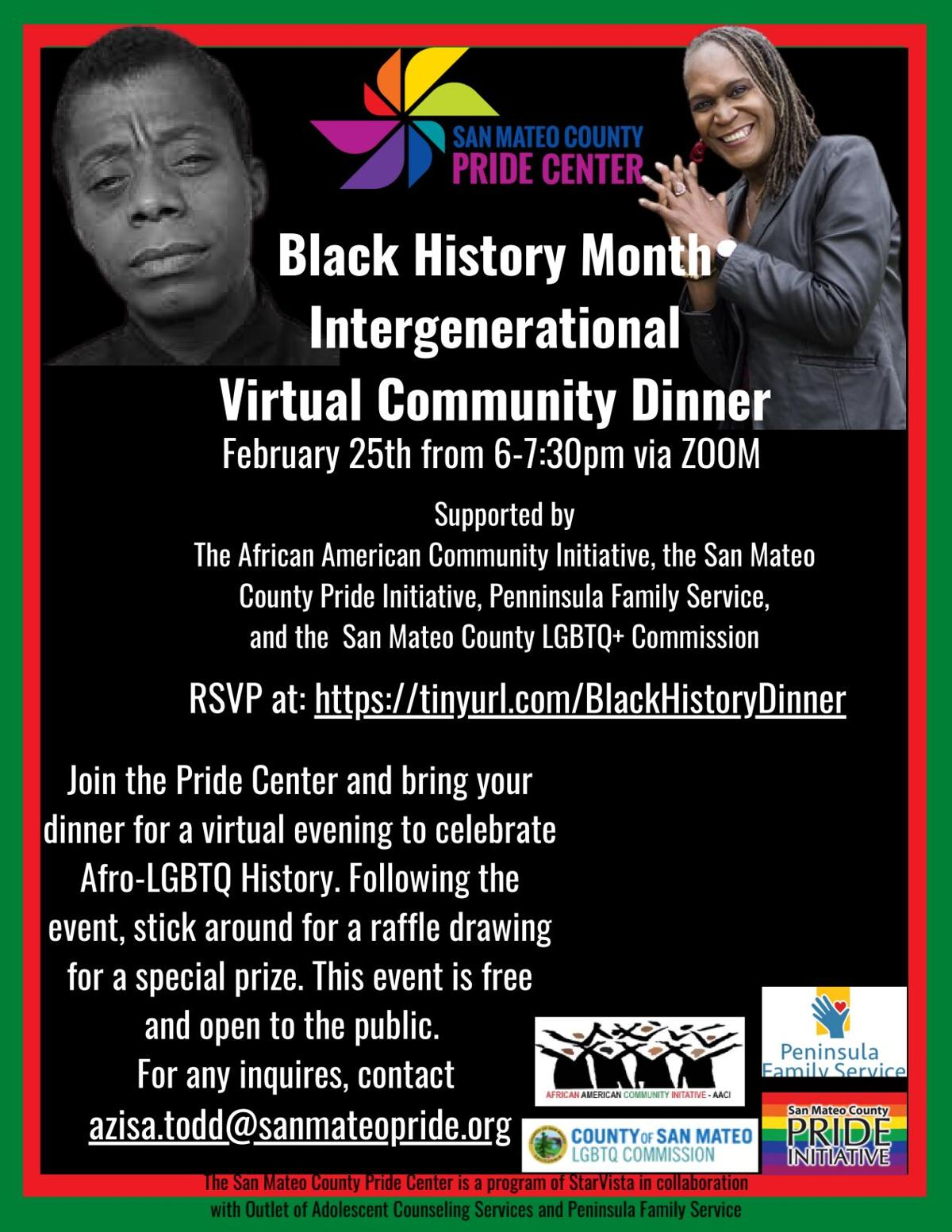 Black History Month Intergenerational Dinner