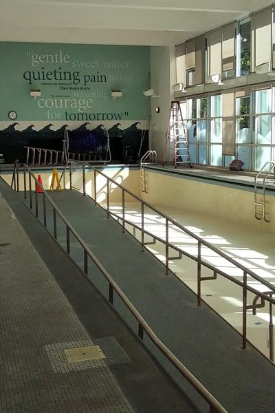 Mickelson Arthritis and Rehabilitation Center pool
