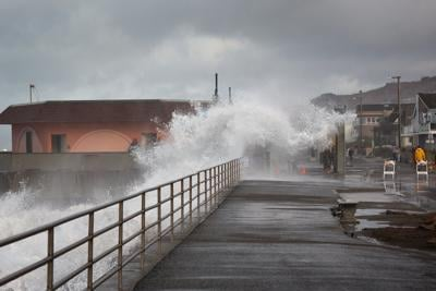 King tide in Pacifica