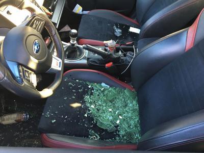 San Mateo car break-in